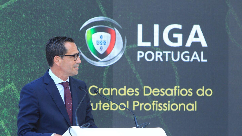 O Presidente da Liga Portuguesa de Futebol Profissional.